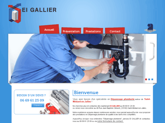 Chauffage Mérignac - E.I GALLIER