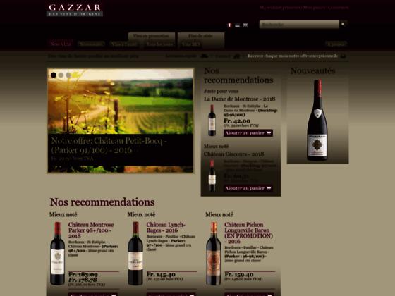 Vins de Bordeaux Primeurs - Gazzar.ch