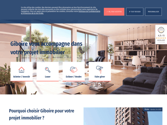 Le groupe immobilier Giboire