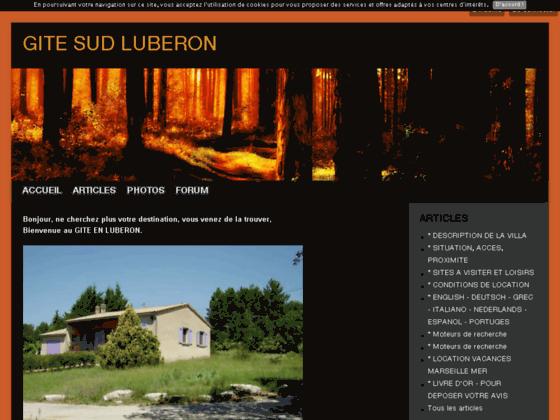 GITE SUD LUBERON