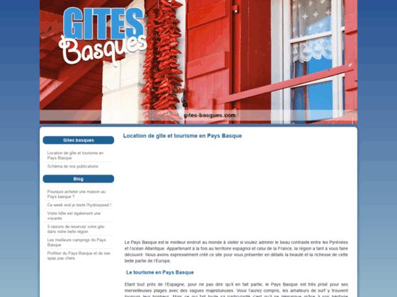 Gites basques - gîtes ruraux - Pays Basque