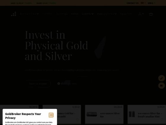 GoldBroker : Investir dans l'or et l'argent