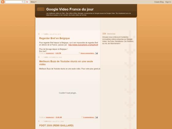 Meilleures vidéos Google du Web
