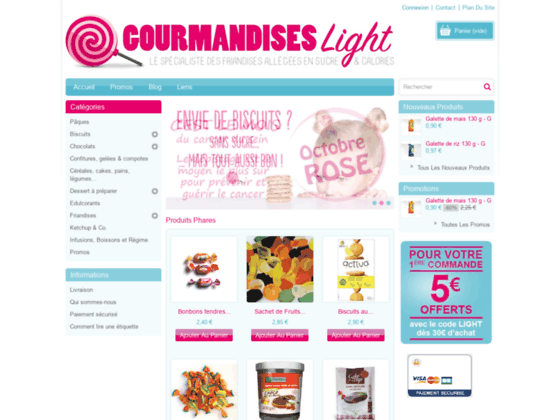 http://www.gourmandises-light.com