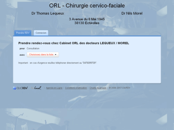ORL à Grenoble