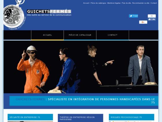 Guichets Fermés insertion de personnes handicapées Paris
