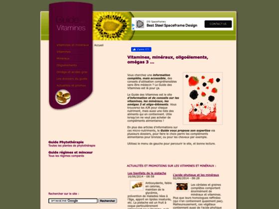 Guide des vitamines : ajr et excés