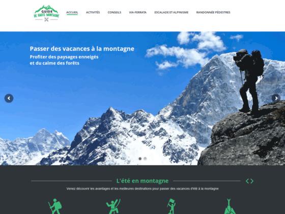 alpinisme escalade ski parapente