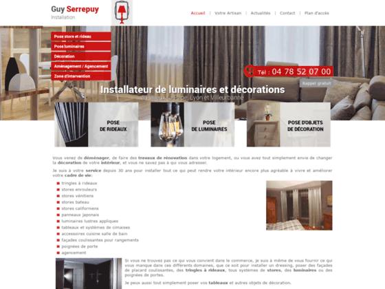 Architecte intérieur Lyon - Guy Serrepuy Installation