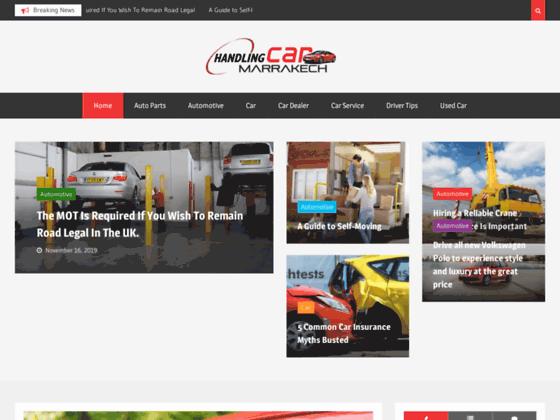 Location voiture Marrakech |Handling-Car Agence de location voitures Marrakech