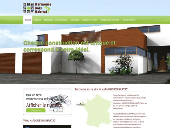 harmonie bois habitat construction maison bois Calvados