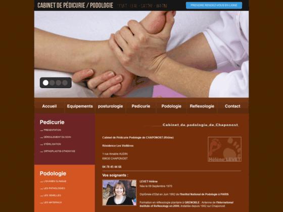 Hélène Levet Podologie-pédicurie Réflexologie Lyon