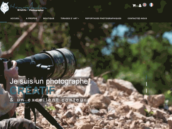 Henry Ausloos - Photographe Animalier