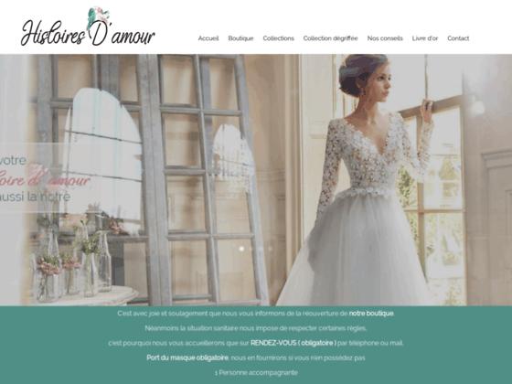 Boutique Mariage Histoires d'Amour Robes Mariée