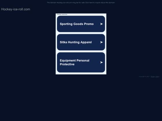 Equipements de hockey sur glace et rollers