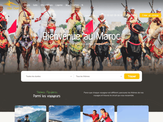 Agence voyage organisé Maroc