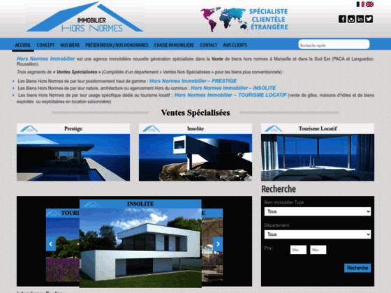 Hors Normes Immobilier est une agence immobilière de prestige nouvelle génération spécialisée dans l