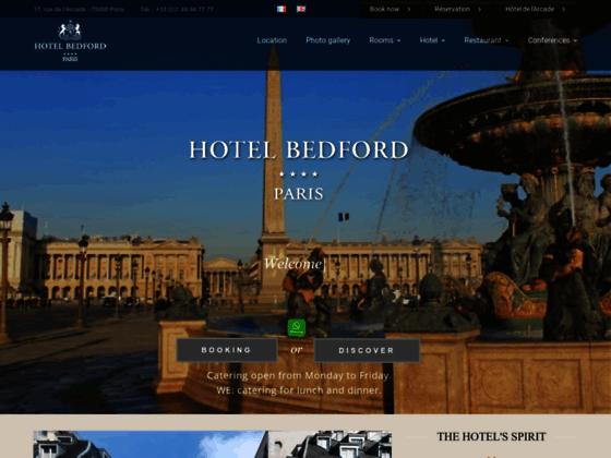 L'Hôtel Bedford proche de l'Opéra