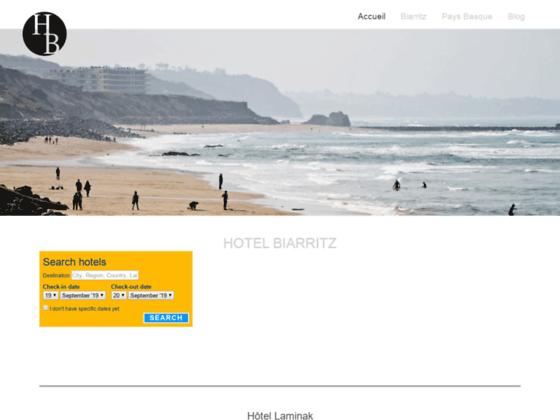hôtel de charme biarritz