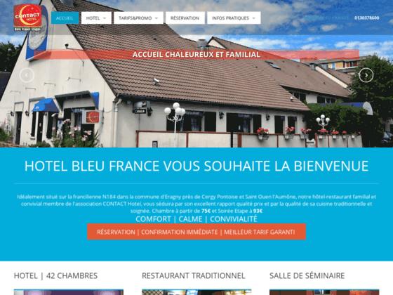 Hotel Bleu France à Eragny Cergy Pontoise