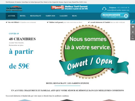 Hotel Les Jardins d Epone 78680 Epône Yvelines Le site officiel - Hotel Jardins d'Epône vous souhait