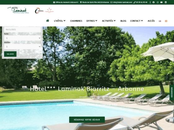 Hôtel Laminak hotel de charme biarritz