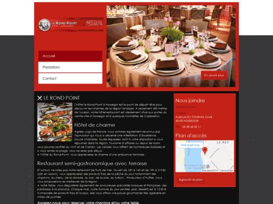 LE ROND POINT restaurant Hossegor