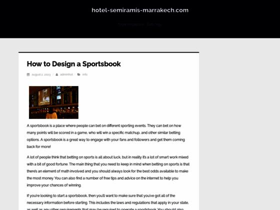 hotel Marrakech, hotel luxe Marrakech