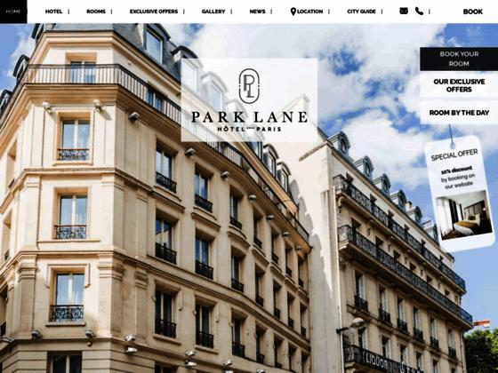 Hôtel Park Lane Paris - Boutique Hôtel à Paris