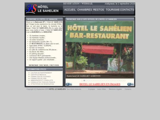 HOTEL LE SAHELIEN : Un hôtel de rêve