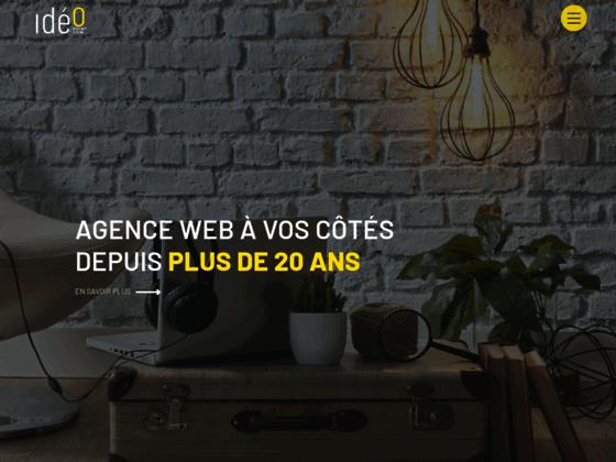 Agence référencement professionnel et création de site internet | Ideo Point Com