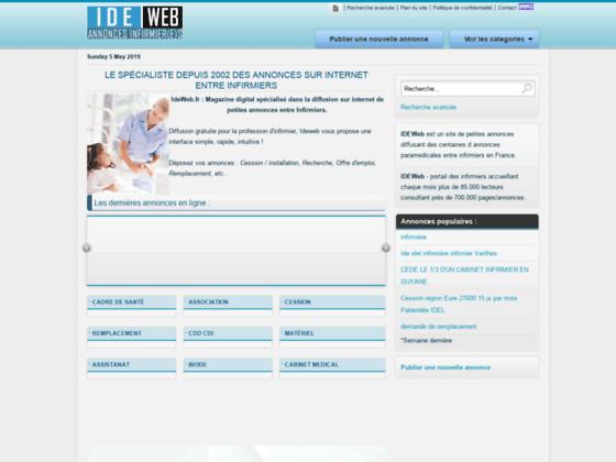 Photo image Annonces IDE - petites annonces Infirmiers diplomes d'etat