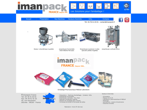 Imanpack Machine Conditionnement Etuyeuses
