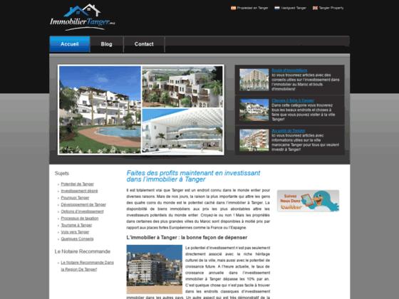 Immobilier Tanger