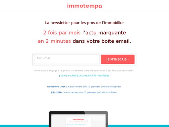 immotempo.com agence immobilière