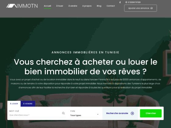 Immobilier Tunisie, annonces vente location appartements maisons terrains villas bureaux locaux