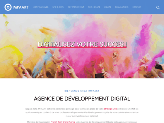 Creation site internet Reims Laon