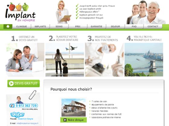 Clinique spécialisée en pose d'implants en Hongrie | Implant-en-Hongrie