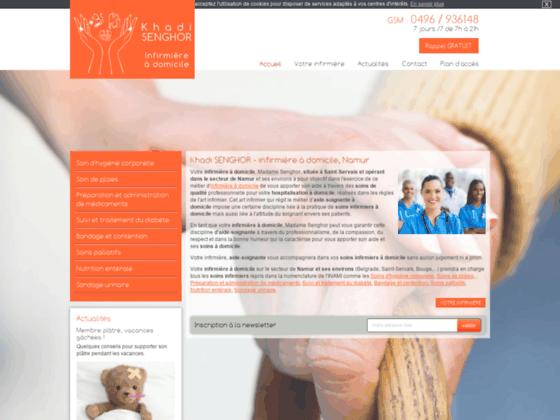 Infirmière à domicile Namur, Soins infirmiers Saint Servais