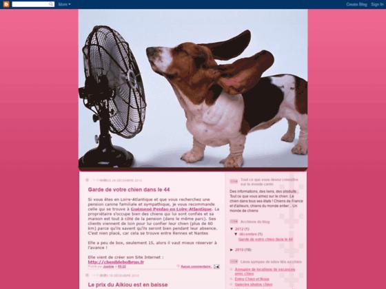 Blog Informations sur les chiens