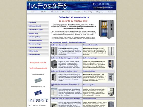 Coffre-fort infosafe