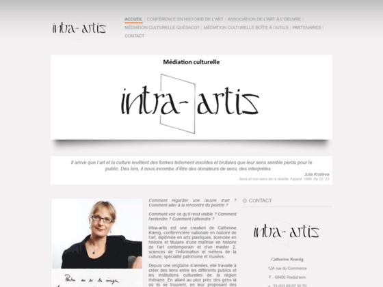 Intra Artis | Médiation culturelle à Mulhouse