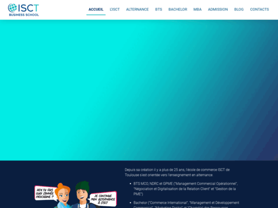 Ecole de commerce ISCT Toulouse