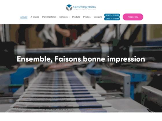 Imprimerie en ligne Maroc