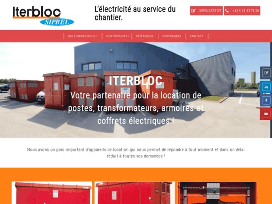 Iterbloc location armoires coffrets électriques