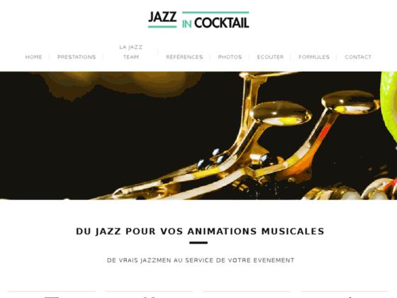Jazz In Cocktail – Groupe de jazz mariage, animation musicale en entreprise et concerts privés