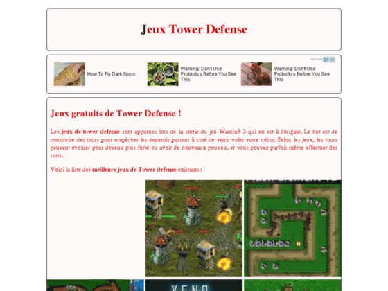 Jeux Tower Defense en flash