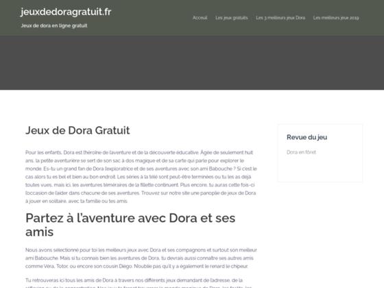 Jeux de Dora