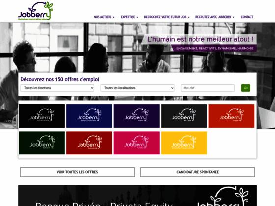 Recrutement cadre - Jobberry