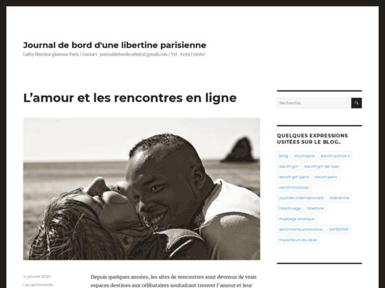 Journal de bord d'une libertine parisienne